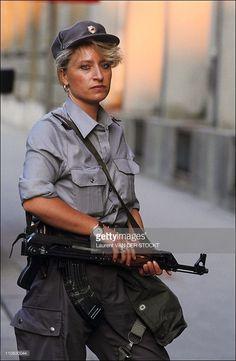 Civil War In Yugoslavia On July 02, 1991 - Slovene soldier.