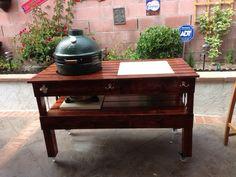 Big Big Green Egg Table Plans | Big Green Egg Table | Pinterest | Ideas, Big  Green Eggs And Building