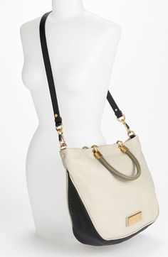 MARC BY MARC JACOBS 'Too Hot to Handle - Mini' Embossed Colorblock Shopper | Nordstrom