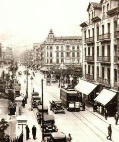 C/ Fruela en 1925, Oviedo