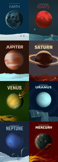 Planets in our Solar System captured on stunning metal plates.