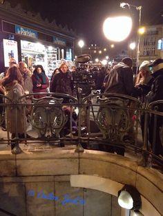 """Tournage du film """"L'ascension"""" de Ludovic Bernard à Place de Clichy.     &n…"""