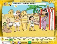 LA MAQUINA DEL TIEMPO , juego online de la JCYL (Junta de Castilla y León) donde podemos visualizar la información más representativa de cad...