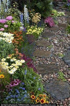 Stone pathway.....