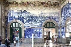 Bento, Portugal, Louvre, Building, Travel, Tiles, Viajes, Buildings, Trips