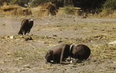 The photo is the Pulitzer prize winning photo taken in 1994 during Sudan famine. The picture depicts a famine stricken child crawling towards a United Nations food camp, located a kilometer away. The vulture is waiting for the child to die so that it can eat it. This picture shocked the whole world. No one knows what happened to the child, including the photographer Kevin Carter who left the place as soon as the photograph was taken.  Three months later he committed suicide due to…