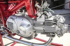 Aermacchi 350 Sprint Road Racer - Engine