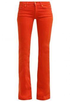 Zalando SE - 7 for all mankind CHARLIZE Flared Jeans orange -…