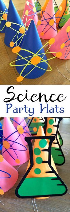 Add some fun to your Science party with these party hats.