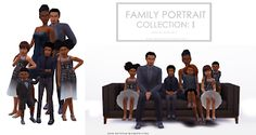 Family Portrait Collection: One - Onyx Sims