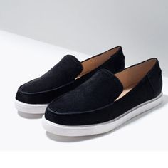 🔴SALE🔴Zara shoes 🔴20% OFF!!! I will lower the price when you're ready to purchase.🔴 100% Cow Furskin. New with tag. EUR 38 US 7.5 Zara Shoes