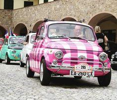 Fiat 500 Meeting in Garlenda Italy More