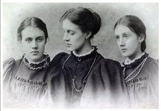 Vanessa (Bell) Stephen, Stella Duckworth & Virginia (Woolf) Stephen - 1896