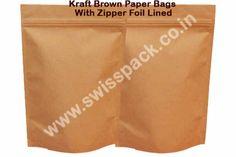 #BrownPaperBags. http://www.swisspack.co.in/paper-bags/