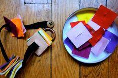 Montessori et Motricité Fine: le boutonnage - fairy's fabrics