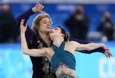 Meryl Davis and Charlie White of the United States compete in the Team Ice Dance Free Dance during day two of the Sochi 2014 Winter Olympics...