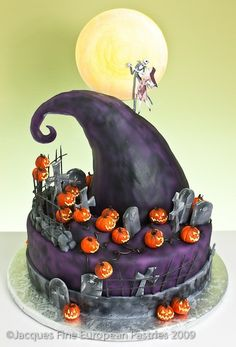 Nightmare Before Christmas cake by Jacques Fine European Pastries - awesome!