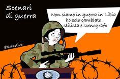 Le vicende luttuose della Libia ci ricordano brutalmente che l'Italia fa parte del del mondo, un mondo dove a poche miglia di fronte alle nostre coste c'è un paese allo sfascio, in guerra e dove l'Isis si sta facendo spazio. La narrazione ufficiale è...