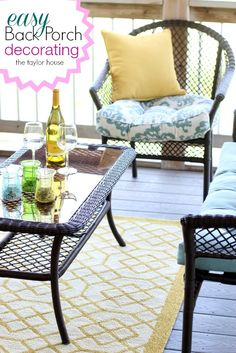 Rug Super Store, Outdoor Decorating, Back Porch Decorating, Outdoor Rugs