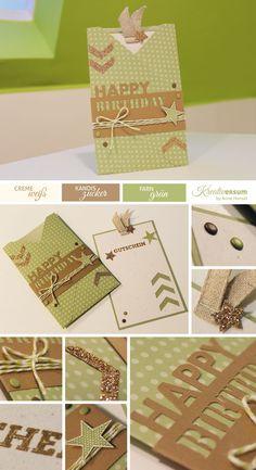 Einsteckkarte mit dem Envelope Punch Board
