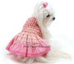 #PoshPuppyJune  #PoshPuppySummer Mollee Wish list  Check Please Hand-Smocked Dress