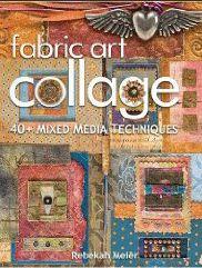 Shabby Cottage Studio ~Gail Schmidt ~ Artist: Fabric Art Collage by Rebekah Meier