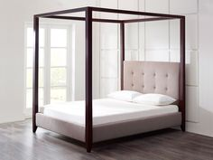Florence Darkwood Fourposter Bed