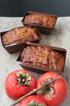 This Persimmon Walnut Cake is similar in texture to banana nut bread. It is a very moist and dense cake that tastes like autumn! Walnut Cake, Fall Recipes, Holiday Recipes, Holiday Foods, Persimmon Recipes, Family Cake, Banana Nut Bread, Afternoon Snacks