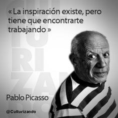 Pablo Picasso, padre del Cubismo y del Collage (+Foto frase) ~ Culturizando