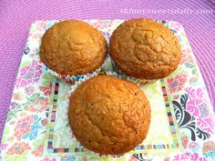 Delicious Orange Scented Chia Seed Muffins