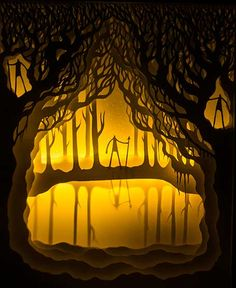 Fairytales, cajas de luz en papel « Blog Ameboide