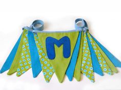 Double-Sided Fabric Bunting Banner | Craftsy