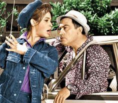 Η Ταξιτζού με τον Νίκο Ρίζο