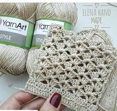 Best 12 32 Precious Grains For Colch - Diy Crafts - Diy & Amp; Crafts - D . - Best 12 32 Precious Grains For Colch – Diy Crafts – Diy & Amp; Gilet Crochet, Crochet Motif, Crochet Lace, Diy Crafts Crochet, Crochet Projects, Crochet Stitches Patterns, Knitting Patterns, Knitting Tutorials, Crochet Videos