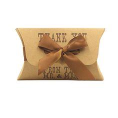 Classic Kraft Paper Gifts Favor Box-Set of 12 – EUR € 4.29