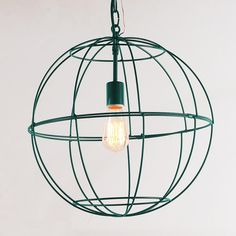 Young House Love Small Wire Globe Lantern - 7 Colors.  Because of Pintrest, I discovered this great blog!  So go give them some DIY loving at www.younghouselove.com!
