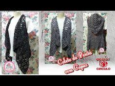 Crochet Jacket, Crochet Cardigan, Free Crochet, Knit Crochet, Crochet Hats, Knitting Patterns, Crochet Patterns, Crochet Videos, Chrochet