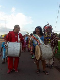 Native day 2017Suriname ( South America)