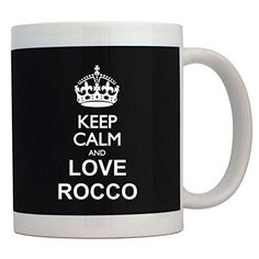 Fuuny Coffee Mugs Keep calm and love Rocco Mug ** Startling review available here  (This is an amazon affiliate link. I may earn commission from it)