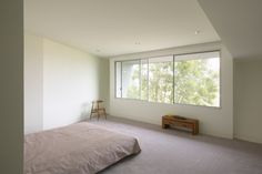 Haus am Hang von Johnston Marklee - schlafzimmer Mark Lee, Johnston Marklee, Hillside House, Pacific Palisades, Commercial Architecture, Los Angeles Homes, House On A Hill, Home Projects, Gallery