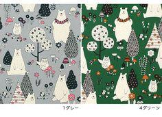 【楽天市場】生地 綿布 MOI・MOI2 北欧の森のクマ シーチング CR8909 【メール便可】|1m単位の切売り|布|綿|コットン|くま|熊|北欧|かわいい|お洒落|袋物|バッグ|トーカイ|:手芸材料の通信販売 シュゲール