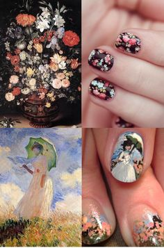 famous art on nails - Google Search