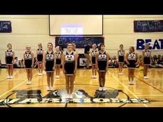 2012 Cedarcrest Cheer Half-Time Routine - YouTube