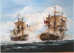 74-gun ships of the line during the time of the Napoleonic wars