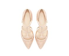 999k SHINY POINTY BALLERINA - Flats - Shoes - Woman | ZARA Indonesia