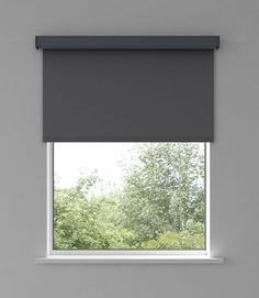 Fabric Blinds, Curtains, Roller Blinds Design, Electric Rollers, Electric Blinds, Metal Tape, Window Handles, Grey Trim, Blinds For Windows