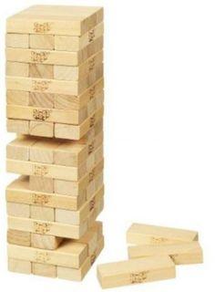 Jenga Game Classic Stacking Blocks New Wooden Tower Family Fun Party Activity #Jenga