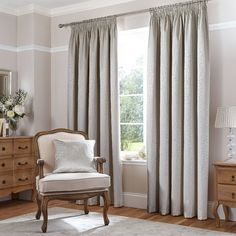 Found it at Wayfair.co.uk - Thermal Leaf Jacquard Curtain Panels
