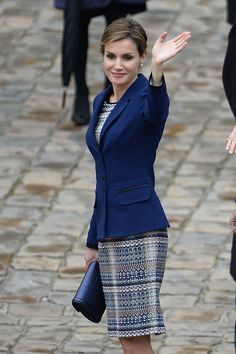 King Felipe VI and Queen Letizia of Spain popped up in Paris.