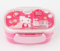 Hello Kitty 2-Tier Lunch Case: Deluxe Balloon